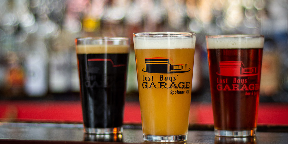 Local Beers and Brews on Tap